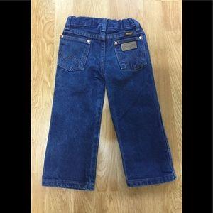 Getty up! Boys 3T wrangler jeans